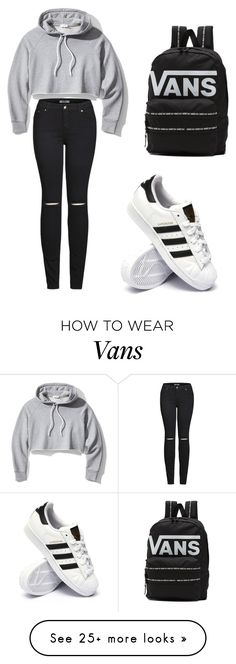 """""""Untitled #1"""" by msolic on Polyvore featuring Frame, 2LUV, adidas and Vans"""