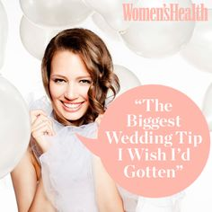"""The Biggest Wedding Tip I Wish I'd Gotten"" 
