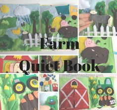 I'm so excited to share with you my new farm themed quiet book. It took many hours to prepare and cut all tiny pieces and then to sew them, but I can tell I'm really happy with it. It i…