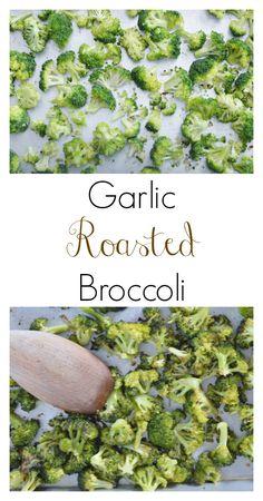 The Art of Comfort Baking: Garlic Roasted Broccoli