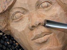 Résultats de recherche d'images pour « carving wall mask Maureen hockley »