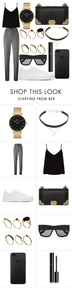 """333."" by plaraa on Polyvore featuring CLUSE, Jennifer Zeuner, Dolce&Gabbana, Raey, Jil Sander, Chanel, ASOS and Gucci"