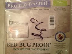 Protect A Bed,  Bed Bug Proof Box Spring Protection Twin - New
