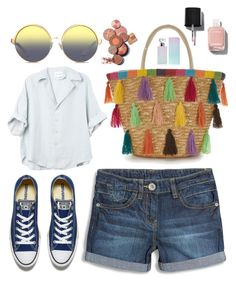 """""""Vi er hvad vi er"""" by ltmorris on Polyvore featuring Converse, Matthew Williamson, Chanel and Calvin Klein"""