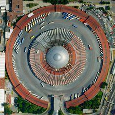 Mexico City bus terminal