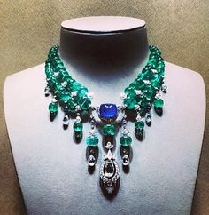 Cartier Cartier Necklace, Cartier Jewelry, Emerald Necklace, Van Cleef And Arpels Jewelry, Hams, High Jewelry, Necklaces, Bracelets, Botany