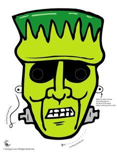 A Collection Of Printable Halloween Masks – PinLaVie.com