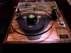 """Sound Of The Wood"" custom turntable by Eric J. Whitacre. #recordplayer #turntable http://www.pinterest.com/TheHitman14/the-record-player-%2B/"