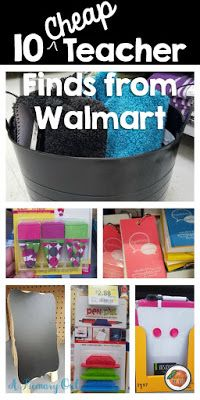 Fabulous Finds from Wal-Mart for teachers