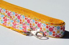 Bubble Polka Dot Dog Leash by CookiesDogHouse on Etsy