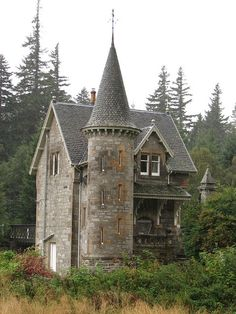 Scotland - Loch Laggan Gate House by thescottishninja, via Flickr