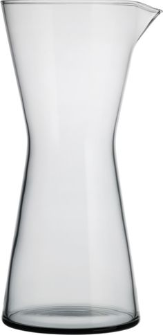 Iittala - Kartio Pitcher 95 cl grey - Iittala.com