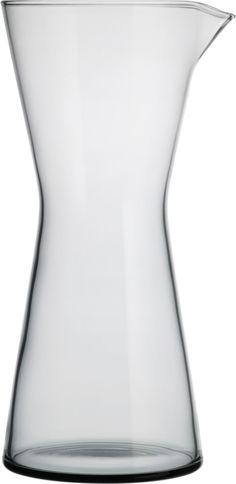 Iittala - Kartio Pitcher 95 cl grey - Iittala.com