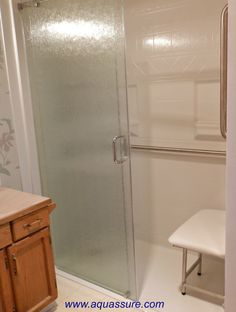 This Shower Was Funded By The Canadian Veterans Independence Program Vip Www Aquure 1 866 404 8827 Barrier Free Wheelchairshower
