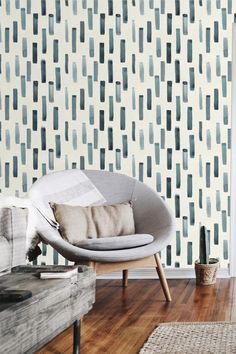 Removable Wallpaper Watercolor Peel and Stick Temporary Wallpaper Minimalist Scandinavian Style Self Adhesive Abstract Vinyl Wall Paper – Home Office Wallpaper Accent Walls In Living Room, Accent Wall Bedroom, Curtains Living, Master Bedroom, Temporary Wallpaper, Wall Wallpaper, Wallpaper For House, Boys Room Wallpaper, Accent Wallpaper