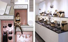 Hunkemöller Flagship Store by Simone Pullens, via Behance