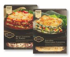 """The new Private Selection Frozen Lasagnas feature pasta and sauces """"made from scratch for an authentic taste"""""""