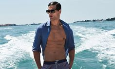 Fabio Mancini Models Zeybra Portofino 1962 Spring Summer 2017 Collection