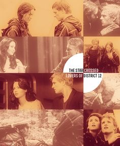 The star-crossed lovers of District 12.