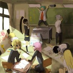 This is what Soul Eater would be like in a regular high school xD