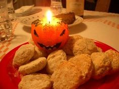 "In Italy, All Souls' Day may be celebrated with delicate cookies (sometimes white, brown or pink) – made with almonds and covered with sugar – called Fave dei Morti or Ossi dei Morti, whose name translates to ""Beans of the Dead"" or ""Bones of the Dead."" (Fave dei morti recipe; Ossi dei Morti recipe)"