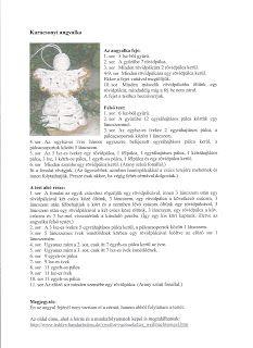 Horgolásról csak magyarul.: ANGYALKA RÉSZLETES LEÍRÁSSAL Crochet Angel Pattern, Crochet Angels, Crochet Patterns, Christmas Crafts, Christmas Decorations, Christmas Ornaments, Crochet Projects, Knit Crochet, Diy And Crafts