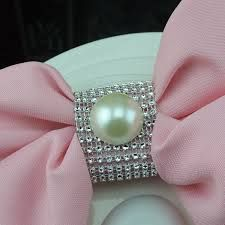 Resultado de imagen para anillos para servilletas de boda