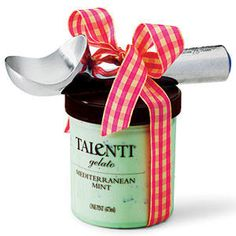 Ice Cream Scooper - Food Gifts for Any Occasion - Southernliving. Be sweet and pair this scoop with a pint of your favorite ice cream. The ice-cream parlor staple was invented in 1935 by Sherman Kelly while vacationing in West Palm Beach, Florida. Heat from your hand warms this water-filled handle to soften ice cream as you scoop. from $18.50