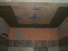 tiling the ceiling - know how