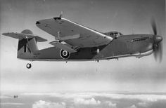 Fairey Barracuda in flight
