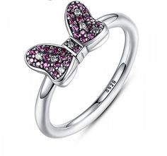 Minnie's Bow Sterling Silver Ring