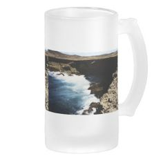 Aruba Ocean Crashing On The Rocks Mugs    •   This design is available on t-shirts, hats, mugs, buttons, key chains and much more    •   Please check out our others designs and products at www.zazzle.com/zzl_322881145212327*