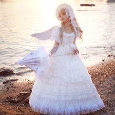 ZJ Story -Holly Marine- Lolita Underskirt Lolita Fashion, High Fashion, Puffy Dresses, Real Costumes, Gothic Girls, Lolita Dress, Indie Brands, Alternative Fashion, Pretty Dresses
