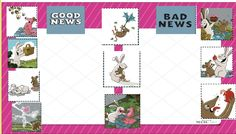 Good News, Bad News book by Mack - 2nd grade lesson Computer Sort - Ogle Library