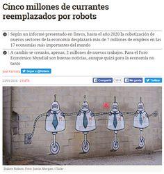 Cinco millones de currantes reemplazados por robots / @eldiarioes | #readytowork #readyforbusiness #readyfordigitalcitizenship