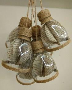 Diy bottle crafts - How to make decorative hanging from bottle Diy Crafts How To Make, Diy Home Crafts, Diy Arts And Crafts, Craft Stick Crafts, Creative Crafts, Easy Crafts, Craft Ideas, Decor Crafts, Reuse Plastic Bottles