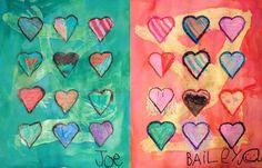 Art Projects for Kids: kid's art gallery