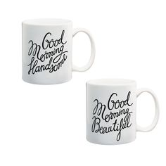 Set cani Good Morning Good Morning Gift, Mugs, Boutique, Tableware, Gifts, Dinnerware, Cups, Tumbler, Dishes