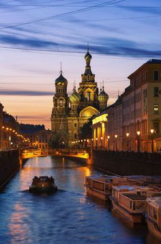 St. Petersburg, also called the 'Venice of the North' because of its bridges, rivers and canals. Drawbridges during the summer have precise opening and closing times to allow ships access to the Baltic Sea.