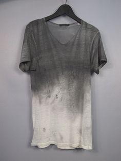 Degrade/gradient grey shirt