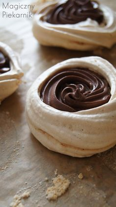 Churros, Meringue, Peanut Butter, Cupcakes, Sweets, Chocolate, Cooking, Gastronomia, Diet