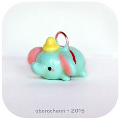 Dumbo for #tsumtsumsunday !! #claycharms #polymerclaycharms #claycreations…