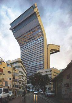 Impossible Architecture – Les Immeubles improbables de Victor Enrich