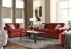 Shop for a Round Rock Garnet Red 2 Pc Living Room at Rooms To Go. Furniture, Room, Sectional Couch, Round Rock, Shopping, Home Decor, Living Ro, Rooms To Go, Burgundy Living Room
