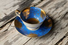 Chugai China made in Occupied Japan 4 tea by Lucky13VintageGoods