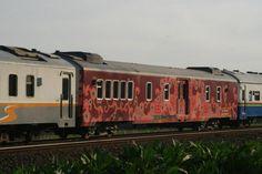 Untuk mendukung program pelestarian warisan budaya Indonesia, maka sejumlah kereta penumpang dan kereta makan diselimuti motif batik.
