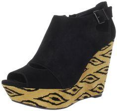 BCBGeneration Women's Penelopee Wedge Bootie: Shoes