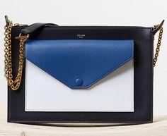 Celine Pocket Medium Clutch Bag