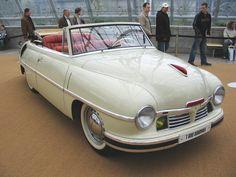 Tatra 600 Cabriolet Sodomka, Československo 1949