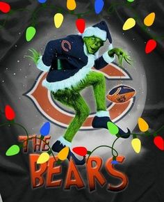 Chicago Bears Funny, Chicago Bears Man Cave, Nfl Bears, Bears Football, Football Baby, Football Season, Chicago Cubs Pictures, Bear Pictures, Chicago Bears Wallpaper